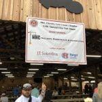 Photo of sponsor banner