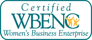 Certified Women's Business Enterprise badge.