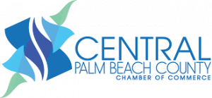 Central Palm Beach County Chamber Of Commerce logo.
