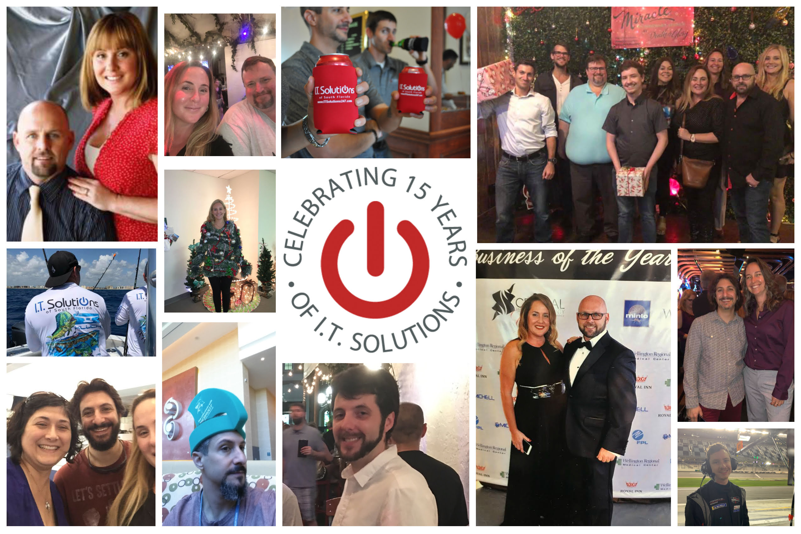 Image collage of our staff over the last 15 years