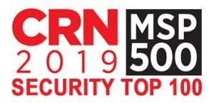 CRN MSP 500 Security 100 award.