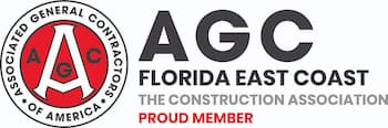 The associated general contractors of america service and supply logo