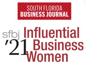 2021 Influential Business Women logo